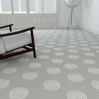 Contemporary wall to wall carpeting