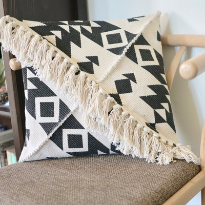 This DIY Fringe Pillow Looks Like It's Straight Outta Anthropologie