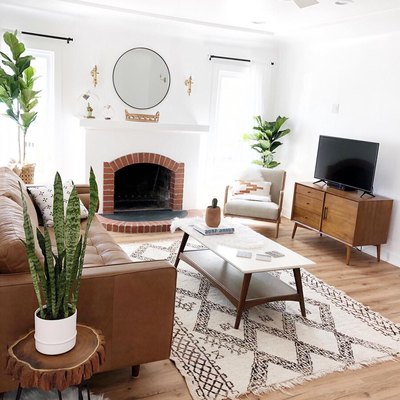 This Living Room is Boho Minimalism at Its Finest