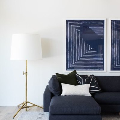 6 Navy Blue Living Room Ideas That'll Convince You the Bold Hue Is Actually a Neutral
