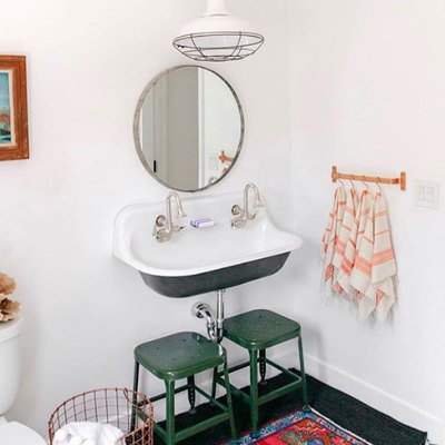 How to Pack a Ton of Style Into a Tiny Bathroom