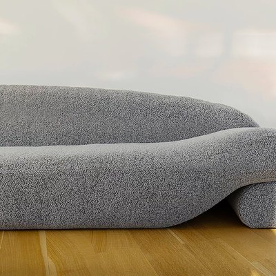 This Chic Beanie Sofa Is Filled With an Unexpected Material