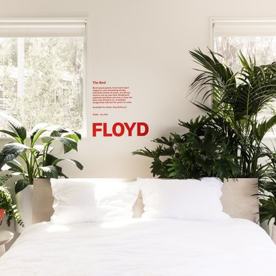 Made in America Furniture Retailer Floyd's Pop-up Shop Is the Home We All Want to Live in