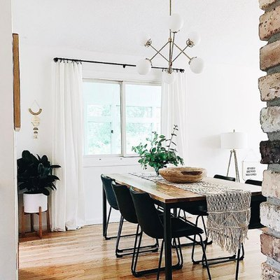 This Is How to Nail a Modern Boho Dining Room