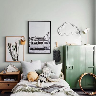 This Child's Bedroom Is Overflowing With Chic and Cozy Layers