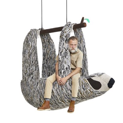 Here's What Leonardo DiCaprio Has to Do With These Hilarious Animal Seating Pods