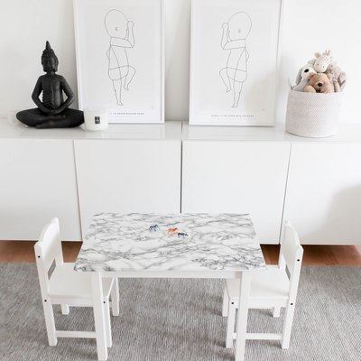 11 Ikea Hacks With Removable Wallpaper That Will Change Everything
