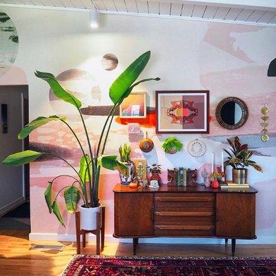 This Singer-Songwriter's Mod-Desert-Boho Living Room Is All Sorts of Yes