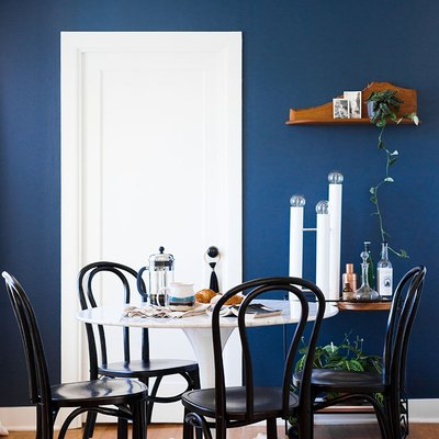 13 Blue Dining Rooms That Will Captivate Your Dinner Guests