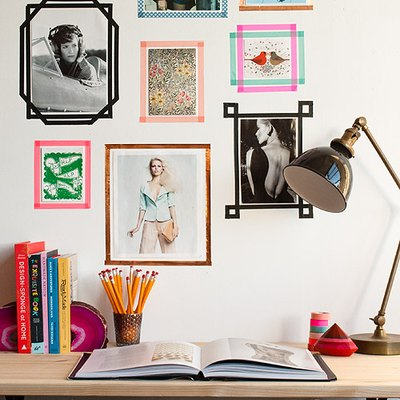 8 Ways to Hang Photos and Art in Your Dorm Room