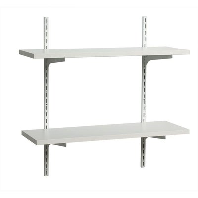 How to Install an Adjustable Shelf System