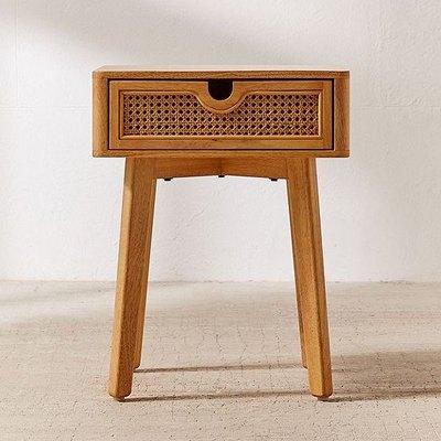 marte cane nightstand