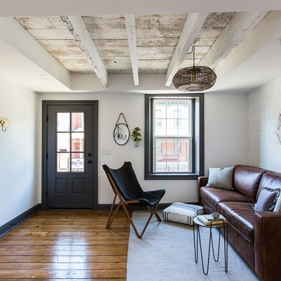 Before/After: An 1880s Row House Goes From Disaster to Farmhouse Fantasy