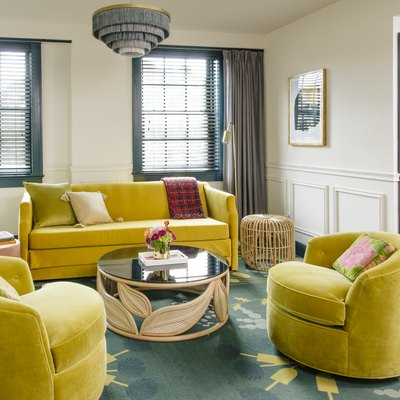 Atlanta's Hotel Clermont Fuses Old-World Style With Oh-So-Pretty Jewel Tones
