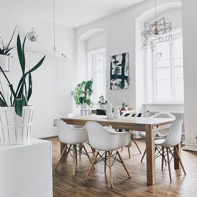 This Is How to Nail an Airy Midcentury Dining Room