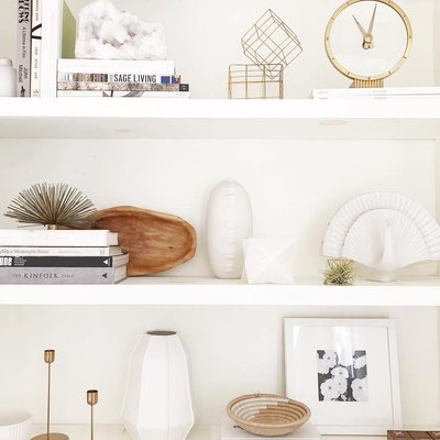 25 Decorative Accents Under $50 to Style a Bookshelf