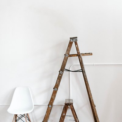 ladders in a home