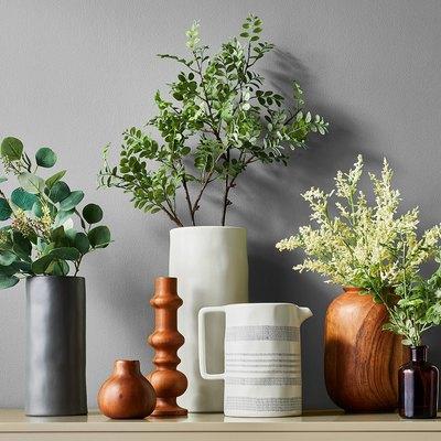 target wood bud vase