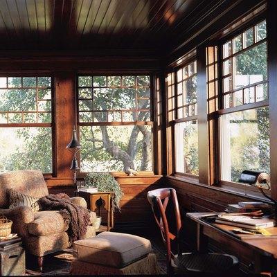 Vinyl wood interior