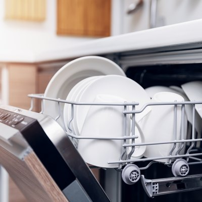 How to Remove a Dishwasher's Upper Rack