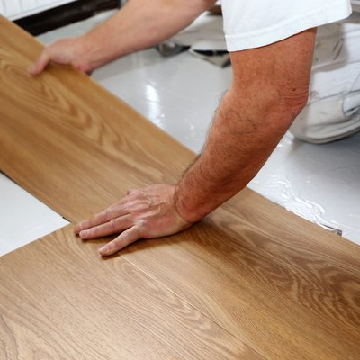 How to Secure Vinyl Floor Tile That Is Not Sticking