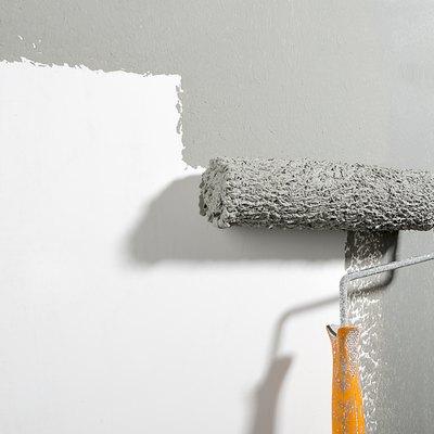 Painting Wall Close-up