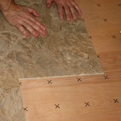 Vinyl Floor Tiles Won't Stick