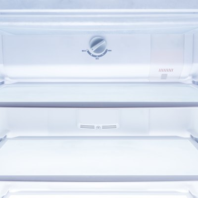 How to Unstick a Refrigerator's Sliding Drawer