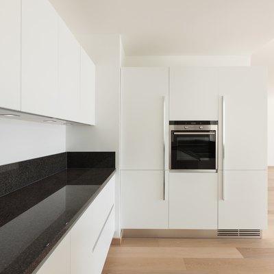 Interiors, modern kitchen