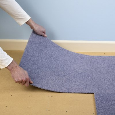 How to Install Carpet Tiles from Lowes