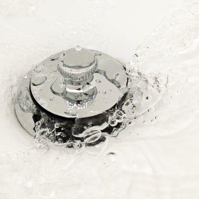 Water Running Down the Drain