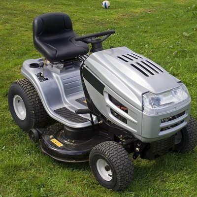 Homemade Riding Lawn Mower Stand
