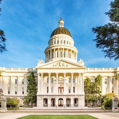 Sacramento California state capitol.