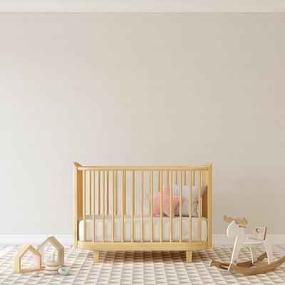 Nursery interior. Mock-up.