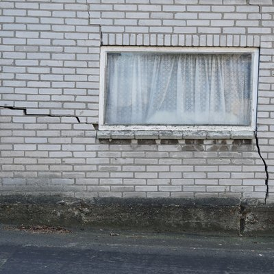 A damaged house in the Netherlands
