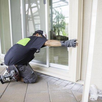 How to Fix a Sagging Storm Door