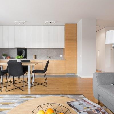 Open space kitchen
