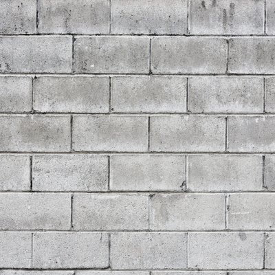 DIY Cinder Block Retaining Walls With Rebar and Concrete