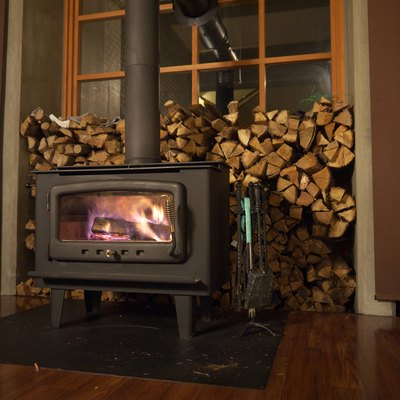 Can I Put a Wood Stove in Front of a Window?