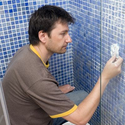 How to Grout Beveled Tile