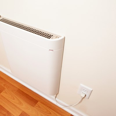 Wall-Mounted Electric Convection Heater