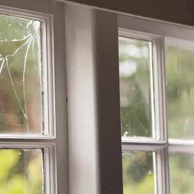 What Can Be Put on a Cracked Glass Window to Hide or Blend the Crack?