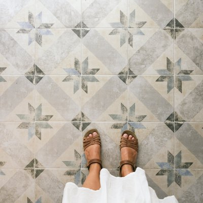 What Is the Difference Between Glazed Porcelain Tile & Through-Body Porcelain Tile?