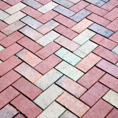 How to Lay a Herringbone Paver Pattern Without Any Cuts