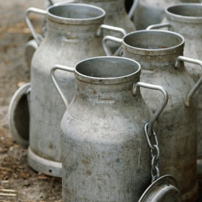 Ways to Use Milk Cans at Home