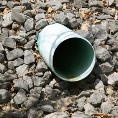 How to Calculate Gravel for French Drains