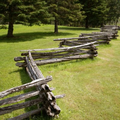 Old Fashioned Fence Types