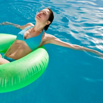 How to Get Rid of White Floating Stuff on Top of Pool Water