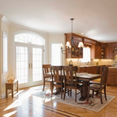 How to Remove the Cloudy Finish on a Dining Room Table