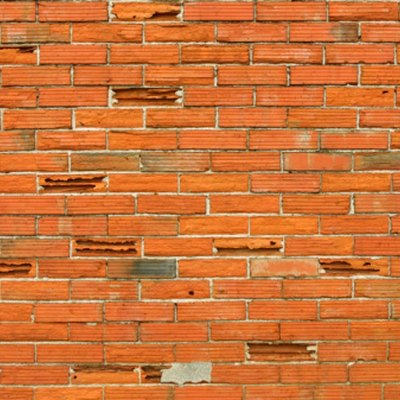 How to Build a Faux Brick Wall Over Cinder Block